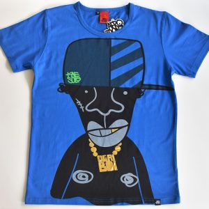 Graffiti Street Art Cartoon TShirt Art Afrotoonz T-Shirt Ogri Boi Kwajongen